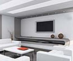 洁白亮丽客厅