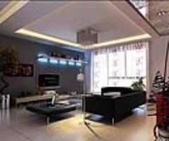 后现代豪华客厅