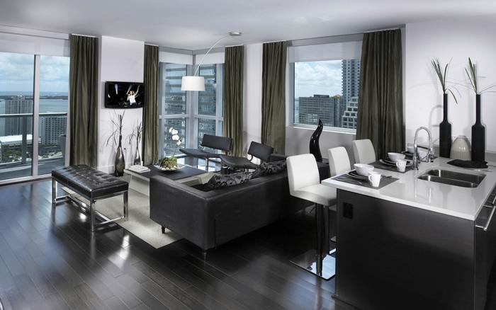 现代质感家居简约客厅装修图片
