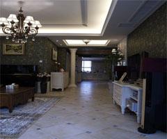 客厅中的过道装修