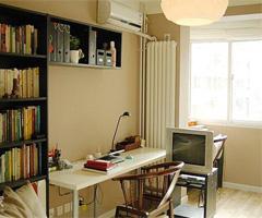 小小创意告别沉闷书房现代风格小户型