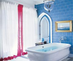 魅力浴缸泡出清爽心情
