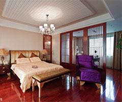新古典主义酒店风格公寓 - 卧室
