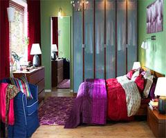 卧室细心打造温馨浪漫