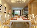 欣赏欧美式客厅餐桌整合设计