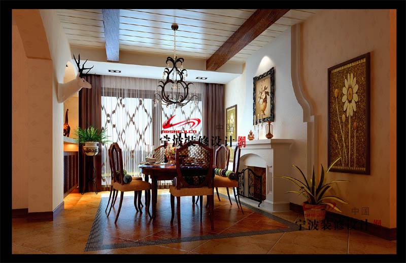 欣赏 欧美式 客厅餐桌整合设计 欧 式风格装修效