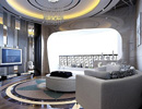 顶级豪华别墅空间设计效果图