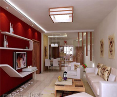 现代风格设计 - 客厅