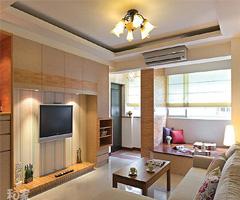 老屋新颜 日式乡村打造简洁舒适空间 - 客厅