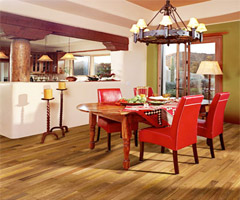 原味经典风的欧式简约地板 - 餐厅