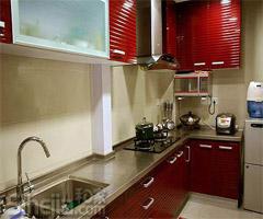 简欧风格灰度空间 80后的时尚婚房 - 厨房
