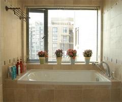 美妙人生 都市田园风格复式公寓 - 卫生间