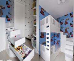 黑白简约也能尽显童趣温馨 - 儿童房设计