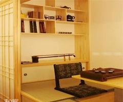 日式风格之别有意境的书房 浓浓的传统文化