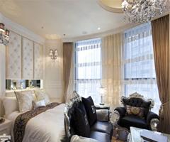 蜗居也能华丽丽 时尚奢华婚房 - 卧室