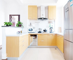 水岸名居 实木中式风格 - 厨房