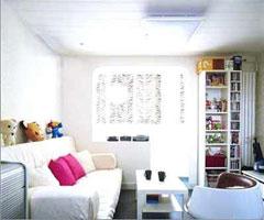 温暖客厅现代风格小户型