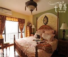 古典田园风格复式居 - 卧室
