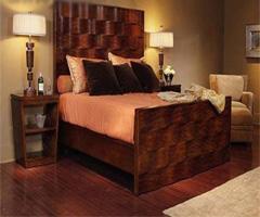 略带奢华的时尚卧室 - 卧室