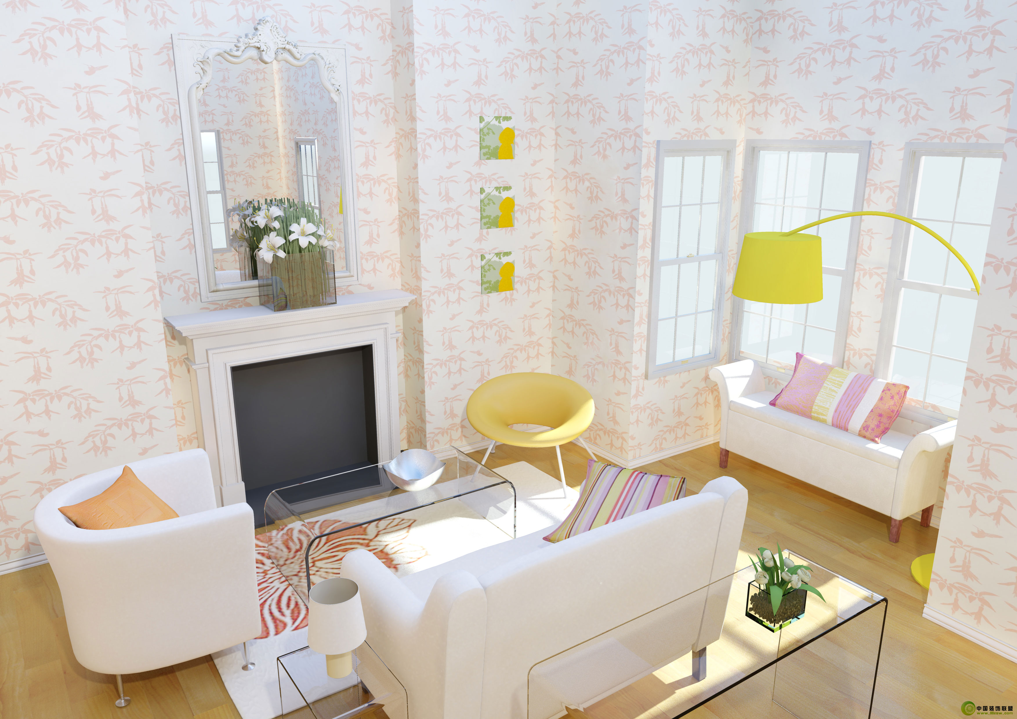 soho的公寓客厅客厅装修图片