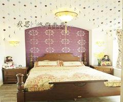 波西米亚风格家 秋天的浪漫与冬天的情怀 - 卧室