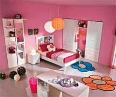 洋溢快乐表情的儿童家具 - 儿童房设计
