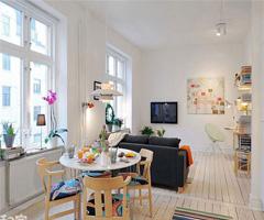 北欧风格居 缤纷色彩带来春日活力 - 餐厅