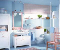 浴室竟比客厅还抢眼