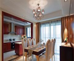 新古典主义酒店风格公寓 - 厨房