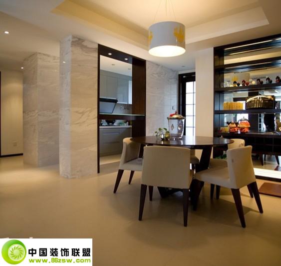 简风格效果图 -_现代小户型装修效果图_八六(中国)(86