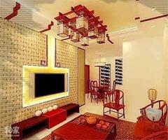 中式装修 - 客厅