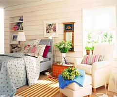 给你充满田园味的卧室