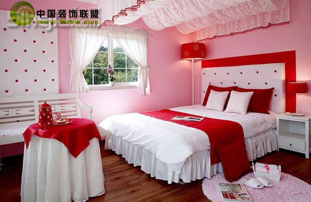 韩国公主房 卧室 卧室装修效果图 八六装饰网装修