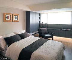 高雅生活品味 低调简约开放式空间 - 卧室