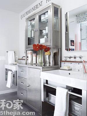 浴室柜 - 卫生间