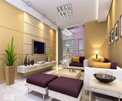 现代风案例 - 客厅