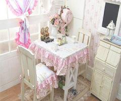 温馨可爱桌布 营造浪漫餐桌风景 - 餐厅
