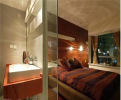 红色装修时尚婚房 - 卧室