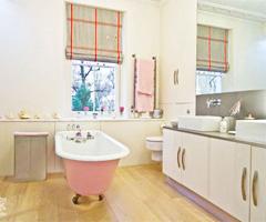 """绝美""""芭比娃娃""""的欧式别墅新古典装修 - 卫生间"""
