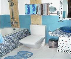打造普罗旺斯风情地中海婚房 - 卫生间