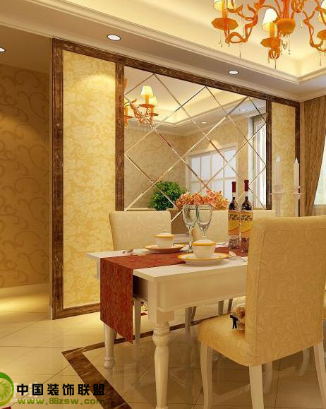 n款欧式风格餐厅设计 - 餐厅_现代小户型装修效果图