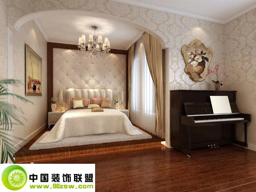 混搭时尚如此简单欧式卧室装修图片