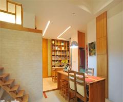 实木打造的无压空间 - 餐厅