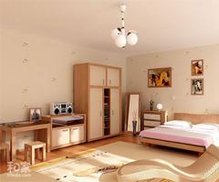 美到无法形容的家居样板间 - 卧室