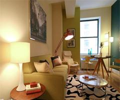 时尚温馨的小家 - 客厅现代风格小户型