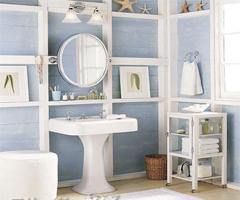 唯美浪漫的欧式田园卫生间 - 卫生间