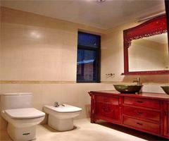 时尚简约的现代卫浴设计 - 卫生间