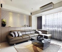现代温馨居 - 客厅