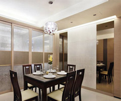 现代温馨居 - 餐厅