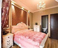 简欧风格三室两厅 - 卧室